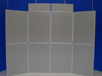 Exhibition panel hire rental Bristol