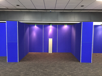 Exhibition panel hire rental Sussex
