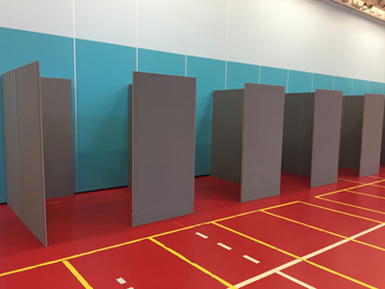 Exhibition panel hire rental London
